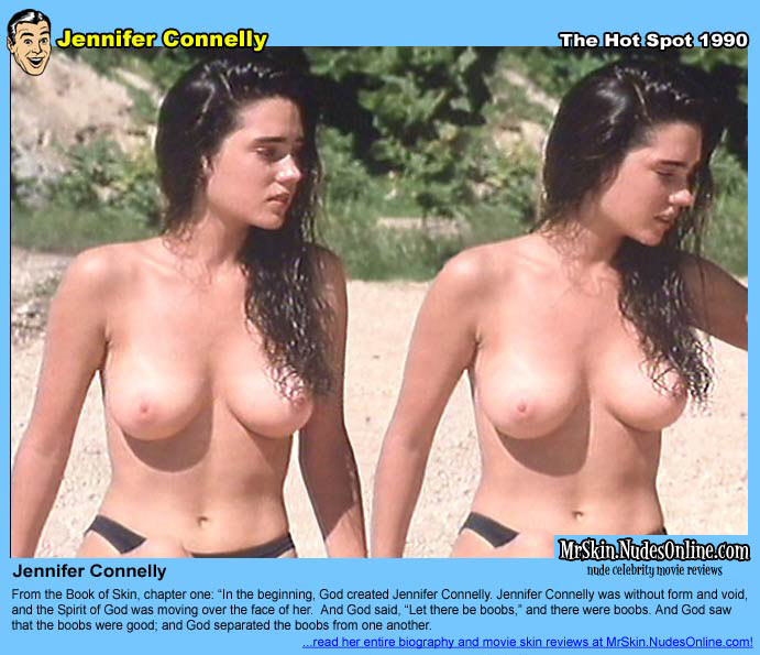 Simply excellent Jennifer connelly mr skin what